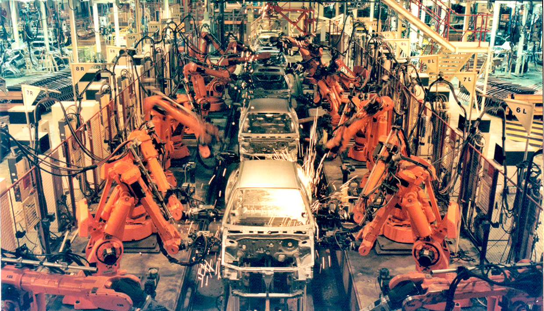 cadena montaje rover 200