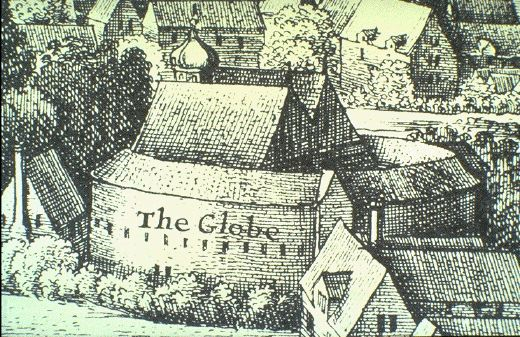 1614 second Globe Theatre Public Domain