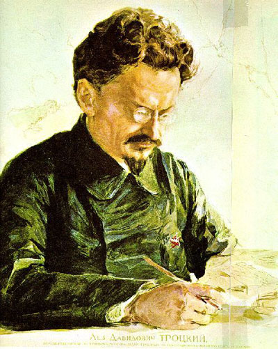 trotsky portrait