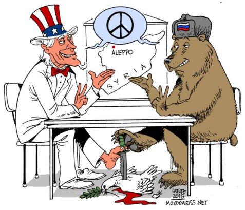 Russia US Peace Latuff