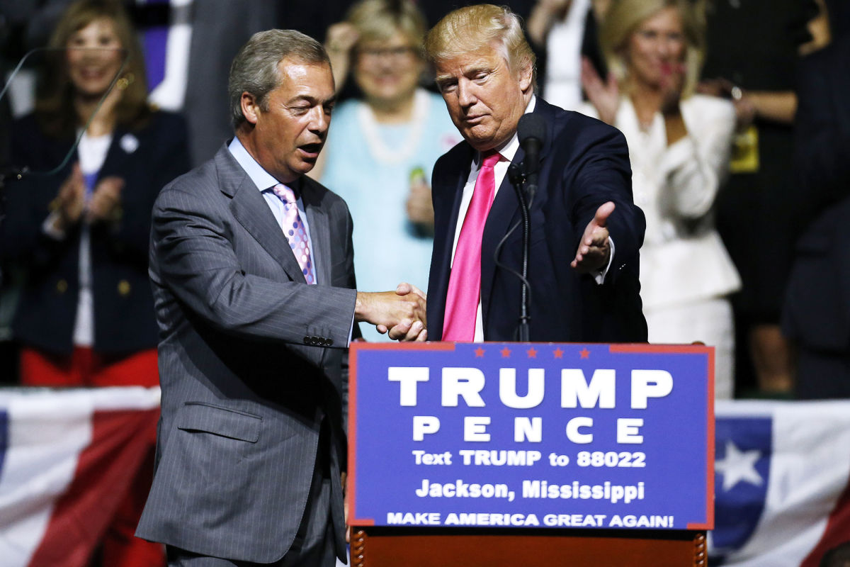Cassidy Donald Trump Nigel Farage 1200