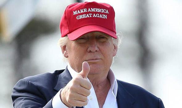 Donald Trump up close 595065