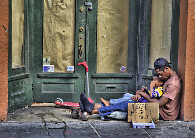 Homeless CC BY NC 2.0