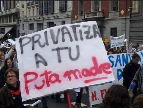 Puerto no privatización