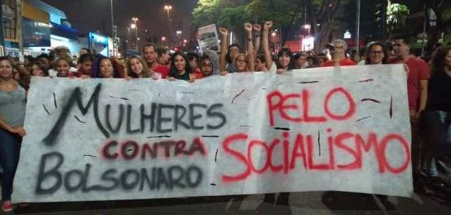 """No se da en Brasil """"agotamiento de las energías de las masas"""" necesario para para el avance de un régimen bonapartista hacia un gobierno fascista. La clase trabajadora está desorientada, pero no está derrotada / imagen: Esquerda Marxista"""