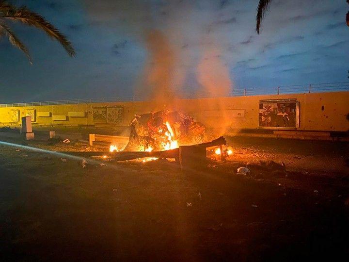 Bagdad, atentado contra Soleimani