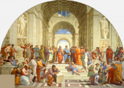 Pintura_Leonardo-La_scuola_di_Atene