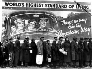 Acumulación  capitalista,  tecnología,  empleo,  desempleo  y explotación  del proletariado.  Marx. Crisis-1929_foto_sueo_americano