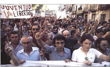 transicion manifestacion