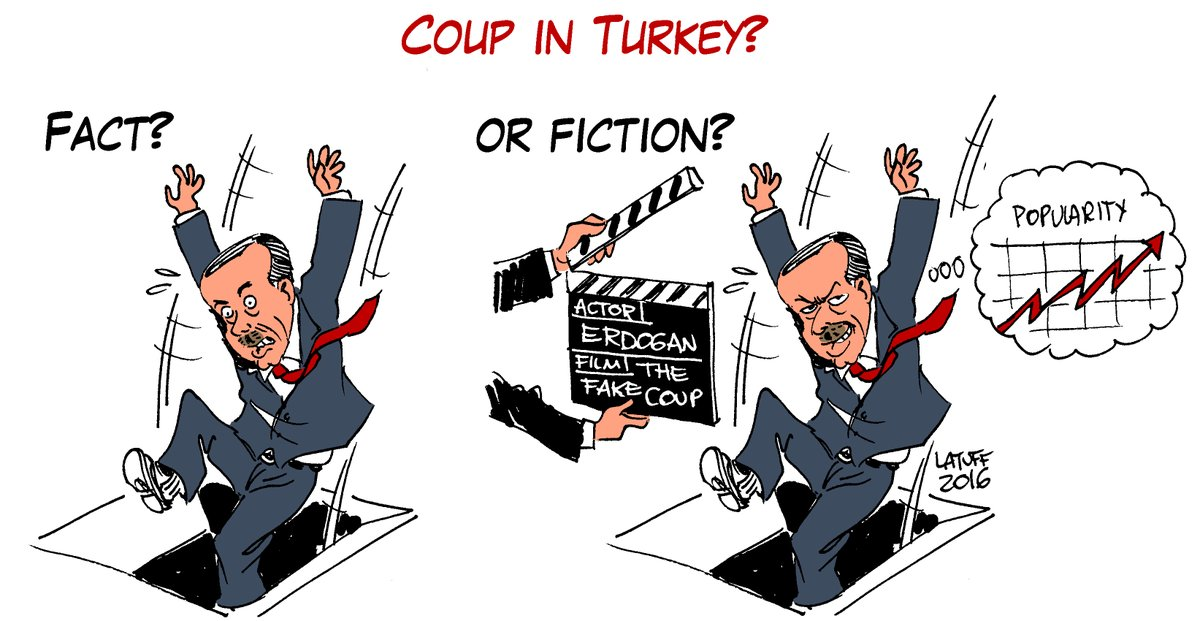 Coup in Turkey Carlos Latuff